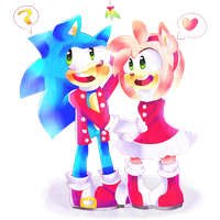 +A Very Sonamy Christmas+ by Sonikku-Star