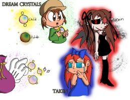 NC: Dream Crystals by KD476