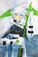 Danny Phantom: Rebirth Wtrclr by slifertheskydragon