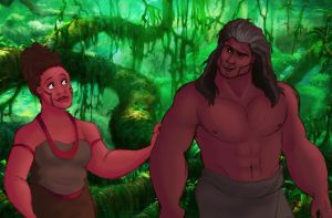Tarzan: Humanized! (Pt.2) by s0alaina