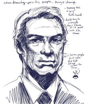 Tommy Lee Jones (2014) by LAN0RA