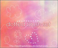 dotted brushes by BeatingDarkness