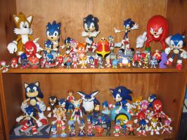 Sonic Figure Collection 2008 by sonicrules100