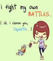 i fight my own battles . . . . by jooisthepoo