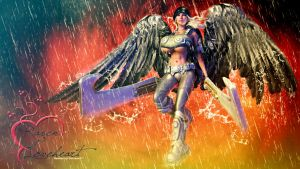 Raven ANGEL by Chinsen3D