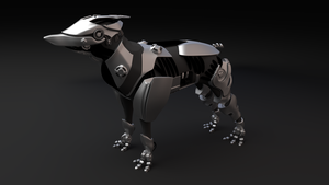 Scout dog wip 6 by betasector