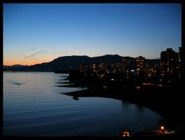 English Bay Aussi by mjhoover