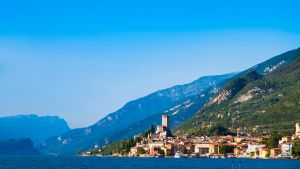 Malcesine from a distance by rdevill