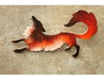 Red Fox Brooch by hontor