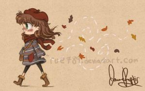 Autumn Stroll by rue789