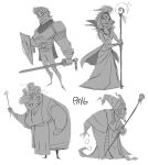 character thumbnails by SomethingEveryDay