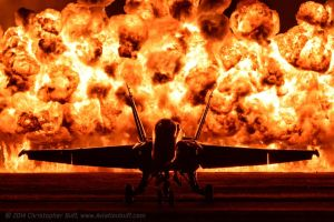 Angel and Fire by aviationbuff
