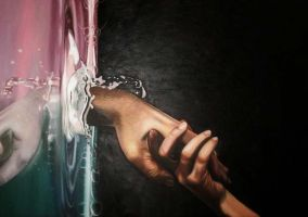 Save me - Oil on Canvas by Oil-Gallery