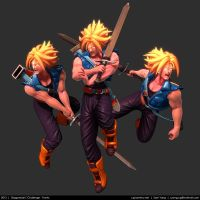 Dragonball Z Challenge: Trunks 2013 by cg-sammu