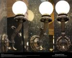 Lighting Fixture Stock 1 - Baroque Wall Sconce by Melyssah6-Stock