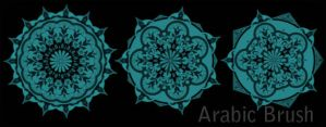 Arabic brush by designersbrush