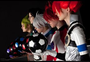 Inazuma Eleven: The 5 of us by Ansuchi
