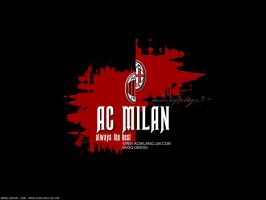 Ac Milan BLACK by mmsq