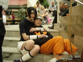 Sasuke and Naruto cosplay by MC-06