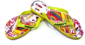 Disco Flip Flops by marywinkler