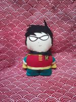 Robin Mini Plushie by snowtigra