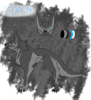 Foaln's reference sheet by CorrosiveChaoticWolf