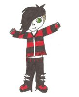 Frank Iero cartoon by Octaviana