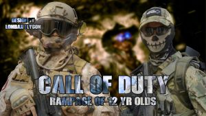 Cosplay Wallpaper Call of Duty by LombaxFlygon