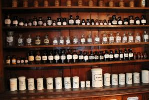 Old pharmacy 04 by Caltha-stock
