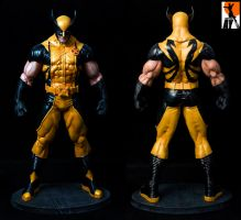 Wolverine heroic Age paints by AYsculpture