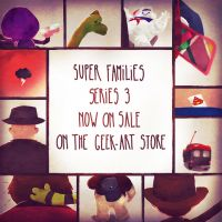 Super Families Series 3, now on sale! by Andry-Shango