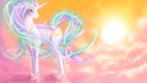 December draw-off: Celestia Wallpaper by LaWeegie