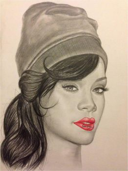 Rihanna by bengray94