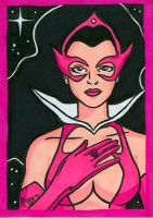 Sketchcard Star Sapphire by RichBernatovech