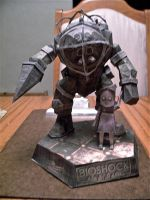 Big Daddy Papercraft by KingHyren