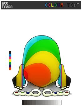 Egghead Submission: ColourTest by Digital--Ice