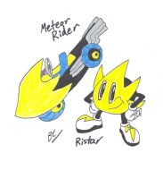 Ristar in All-Star Racing by BlackCarrot1129