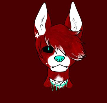 Expressionless Red Icon by KCs-Kreatorium