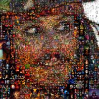 Jack Sparrow Mosaic 2 by Cornejo-Sanchez