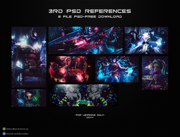 3rd psd references by dickywardhana