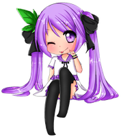 Grape Miku by EmergencyChocolate