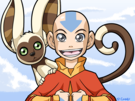 Aang by rongs1234