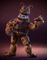 Nightmare Fredbear! by SmashingRenders