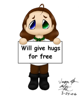Will Give Hugs for Free by ImagenAshyun