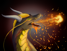 Spitting Lava by Ardate