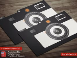 Camera Business Card by khaledzz9