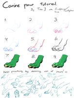 Paw tutorial o3o by AcidPaw