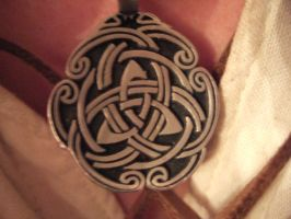 Celtic Knot Necklace by WesTonR