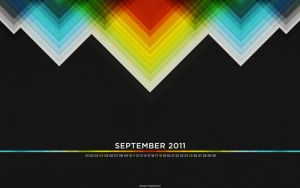 September 2011 Wallpaper Set by fudgegraphics
