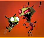 Laughin' by Invader--ZIM